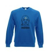 Indeed Teal'c Adult Crewneck Sweatshirt