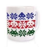 Isle Invaders ceramic coffee mug
