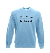 I've Been Outside crewneck sweatshirt