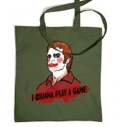 I wanna play a game Tote Bag