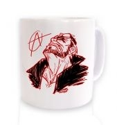 Jack Reigns ceramic coffee mug