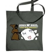 Version 1 Jawa Bros. Scrap Metal Merchants tote bag
