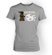 Version 1    Women's Jawa Bros. Scrap Metal Merchants tshirt