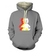 Retro Pixel Guy (trace) premium hoodie