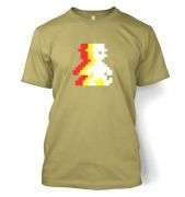 Retro Pixel Guy (trace) men's t-shirt