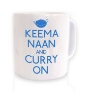 Keema Naan And Curry On mug