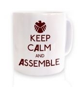 Keep Calm And Assemble Mug