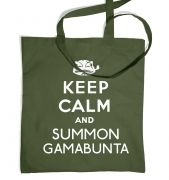 Keep Calm and Summon Gamabunta tote bag