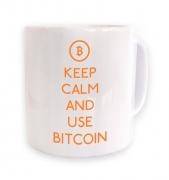 Keep Calm And Use Bitcoin mug