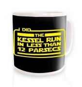 Kessel Run ceramic coffee mug