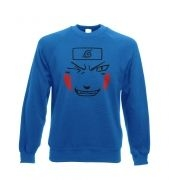 Kiba Face - Adult Crewneck Sweatshirt