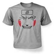 Kiba Face   kids t-shirt
