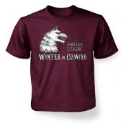 Kids House Stark tshirt