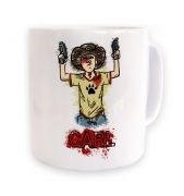 Kid's with gun's mug