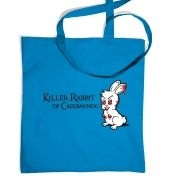 Killer Rabbit Of Caerbannog tote bag