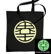King Kai (glow in the dark) tote bag