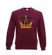 Long Live The King crewneck sweatshirt