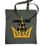 Long Live The King tote bag 