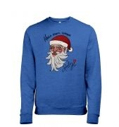 Manga Santa heather sweatshirt