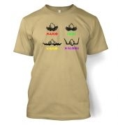 Mario Moustaches  t-shirt