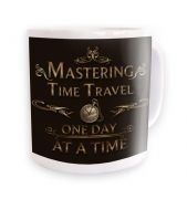 Mastering time travel (ornate) mug