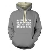 Maybe I'm The Dragonborn premium hoodie