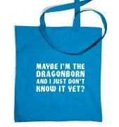 Maybe I'm the Dragonborn tote bag