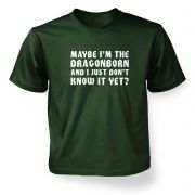 Maybe I'm The Dragonborn kids' t-shirt