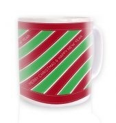 Merry Christmas Ribbon Mug 