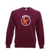 Mockingjay District 13 Adult Crewneck Sweatshirt