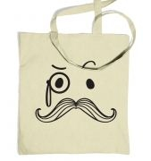 Monocle And Moustache tote bag