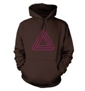 Optical Illusion Triangle hoodie