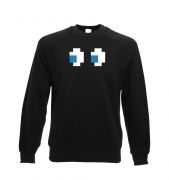 Ghost Eyes crewneck sweatshirt