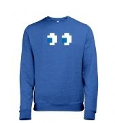 Ghost Eyes men's heather sweatshirt