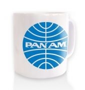 Pan Am Logo   blue fillmug