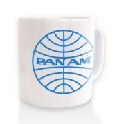 Pan Am Logo   blue outlinemug