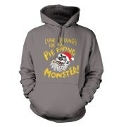 Pie Monster Adult Hoodie