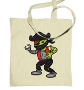 Pirate Zombie Robot Ninja tote bag