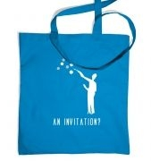 An Invitation tote bag