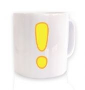 Quest Exclamation Mark ceramic coffee mug