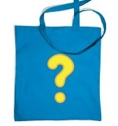 Quest Question Mark tote bag