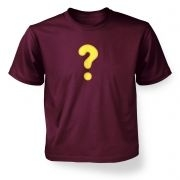 Quest Question Mark  kids t-shirt