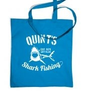 Quint's Shark Fishing tote bag