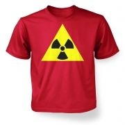 Radioactive Symbol kids' t-shirt