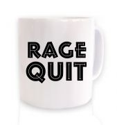Rage Quit coffee mug