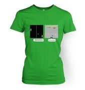 Wonder Of Dimenions women's retro gaming t-shirt