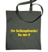 Schizophrenic Tote Bag