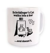Schrodingers Cat Walks Into A Bar  mug