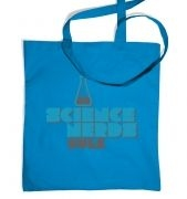 Science Nerds Rule tote bag