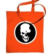 Shinigami Skull tote bag